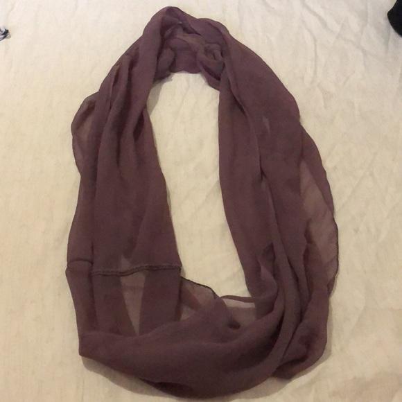 Chiffon Circle scarf